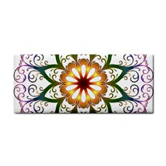 Prismatic Flower Floral Star Gold Green Purple Cosmetic Storage Cases by Alisyart