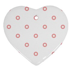 Scrapbook Paper Flower Ornament (heart) by Alisyart