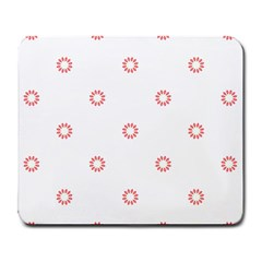 Scrapbook Paper Flower Large Mousepads by Alisyart