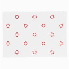 Scrapbook Paper Flower Large Glasses Cloth (2 Side) by Alisyart