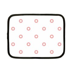 Scrapbook Paper Flower Netbook Case (small)