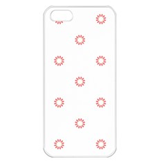 Scrapbook Paper Flower Apple Iphone 5 Seamless Case (white) by Alisyart