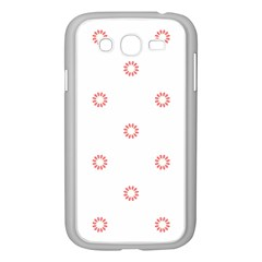 Scrapbook Paper Flower Samsung Galaxy Grand Duos I9082 Case (white) by Alisyart