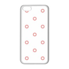 Scrapbook Paper Flower Apple Iphone 5c Seamless Case (white) by Alisyart