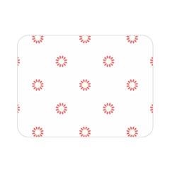 Scrapbook Paper Flower Double Sided Flano Blanket (mini)  by Alisyart