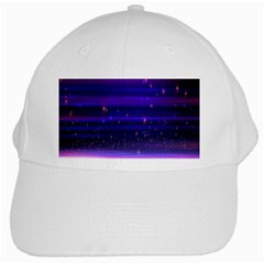 Space Planet Pink Blue Purple White Cap by Alisyart