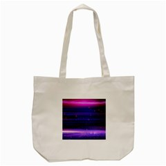 Space Planet Pink Blue Purple Tote Bag (cream) by Alisyart