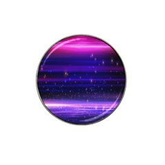 Space Planet Pink Blue Purple Hat Clip Ball Marker (4 Pack) by Alisyart