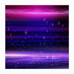 Space Planet Pink Blue Purple Medium Glasses Cloth (2 Side) by Alisyart