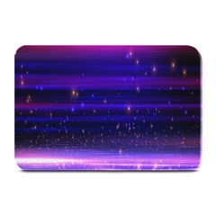 Space Planet Pink Blue Purple Plate Mats