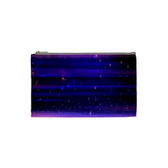 Space Planet Pink Blue Purple Cosmetic Bag (small)  by Alisyart