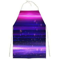 Space Planet Pink Blue Purple Full Print Aprons by Alisyart