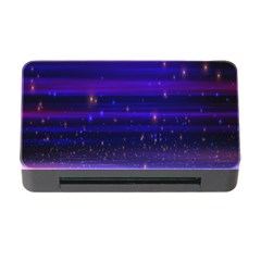 Space Planet Pink Blue Purple Memory Card Reader With Cf by Alisyart