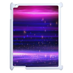 Space Planet Pink Blue Purple Apple Ipad 2 Case (white) by Alisyart