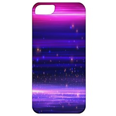 Space Planet Pink Blue Purple Apple Iphone 5 Classic Hardshell Case by Alisyart