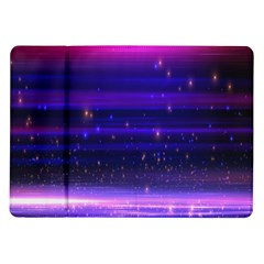 Space Planet Pink Blue Purple Samsung Galaxy Tab 10 1  P7500 Flip Case by Alisyart