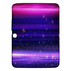 Space Planet Pink Blue Purple Samsung Galaxy Tab 3 (10 1 ) P5200 Hardshell Case  by Alisyart