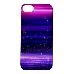 Space Planet Pink Blue Purple Apple Iphone 5s/ Se Hardshell Case by Alisyart