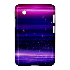 Space Planet Pink Blue Purple Samsung Galaxy Tab 2 (7 ) P3100 Hardshell Case  by Alisyart