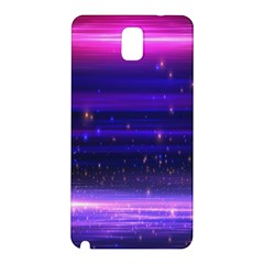 Space Planet Pink Blue Purple Samsung Galaxy Note 3 N9005 Hardshell Back Case by Alisyart
