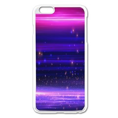 Space Planet Pink Blue Purple Apple Iphone 6 Plus/6s Plus Enamel White Case by Alisyart