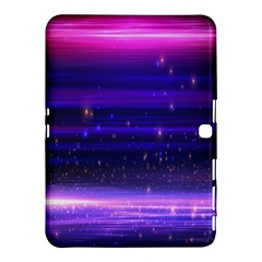 Space Planet Pink Blue Purple Samsung Galaxy Tab 4 (10 1 ) Hardshell Case