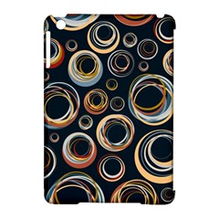 Seamless Cubes Texture Circle Black Orange Red Color Rainbow Apple Ipad Mini Hardshell Case (compatible With Smart Cover) by Alisyart