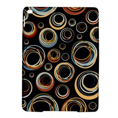 Seamless Cubes Texture Circle Black Orange Red Color Rainbow Ipad Air 2 Hardshell Cases by Alisyart