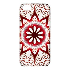 Prismatic Flower Floral Star Gold Red Orange Apple Iphone 5c Hardshell Case by Alisyart
