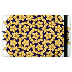 Star Orange Blue Apple Ipad 2 Flip Case by Alisyart