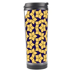 Star Orange Blue Travel Tumbler by Alisyart