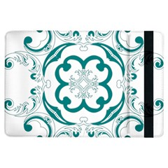 Vintage Floral Star Flower Blue Ipad Air Flip by Alisyart