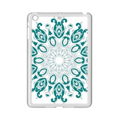 Vintage Floral Star Blue Green Ipad Mini 2 Enamel Coated Cases