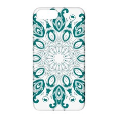 Vintage Floral Star Blue Green Apple Iphone 7 Plus Hardshell Case by Alisyart