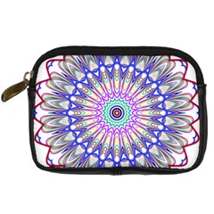 Prismatic Line Star Flower Rainbow Digital Camera Cases by Alisyart