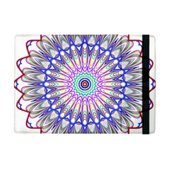 Prismatic Line Star Flower Rainbow Apple Ipad Mini Flip Case by Alisyart