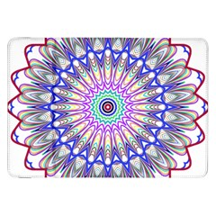Prismatic Line Star Flower Rainbow Samsung Galaxy Tab 8 9  P7300 Flip Case by Alisyart