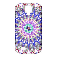 Prismatic Line Star Flower Rainbow Samsung Galaxy S4 Classic Hardshell Case (pc+silicone) by Alisyart
