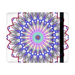 Prismatic Line Star Flower Rainbow Samsung Galaxy Tab Pro 8 4  Flip Case by Alisyart