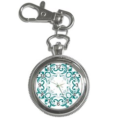 Vintage Floral Style Frame Key Chain Watches by Alisyart