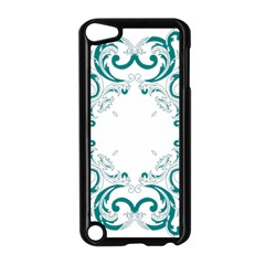 Vintage Floral Style Frame Apple Ipod Touch 5 Case (black)
