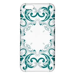 Vintage Floral Style Frame Iphone 6 Plus/6s Plus Tpu Case by Alisyart