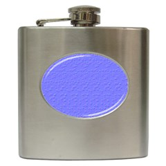 Ripples Blue Space Hip Flask (6 Oz)