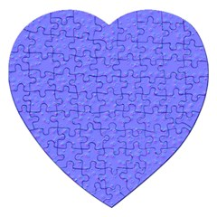 Ripples Blue Space Jigsaw Puzzle (heart) by Alisyart