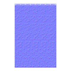 Ripples Blue Space Shower Curtain 48  X 72  (small)  by Alisyart