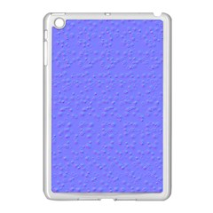 Ripples Blue Space Apple Ipad Mini Case (white) by Alisyart