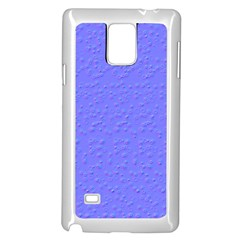 Ripples Blue Space Samsung Galaxy Note 4 Case (white) by Alisyart