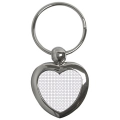 Violence Head On King Purple White Flower Key Chains (heart)