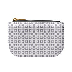 Violence Head On King Purple White Flower Mini Coin Purses