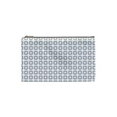 Violence Head On King Purple White Flower Cosmetic Bag (small)
